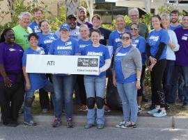 photo of ATI volunteers