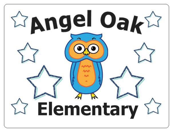 Angel Oak School Logo