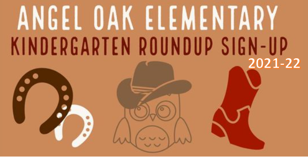 Kindergarten Roundup sign-up for 2021-22