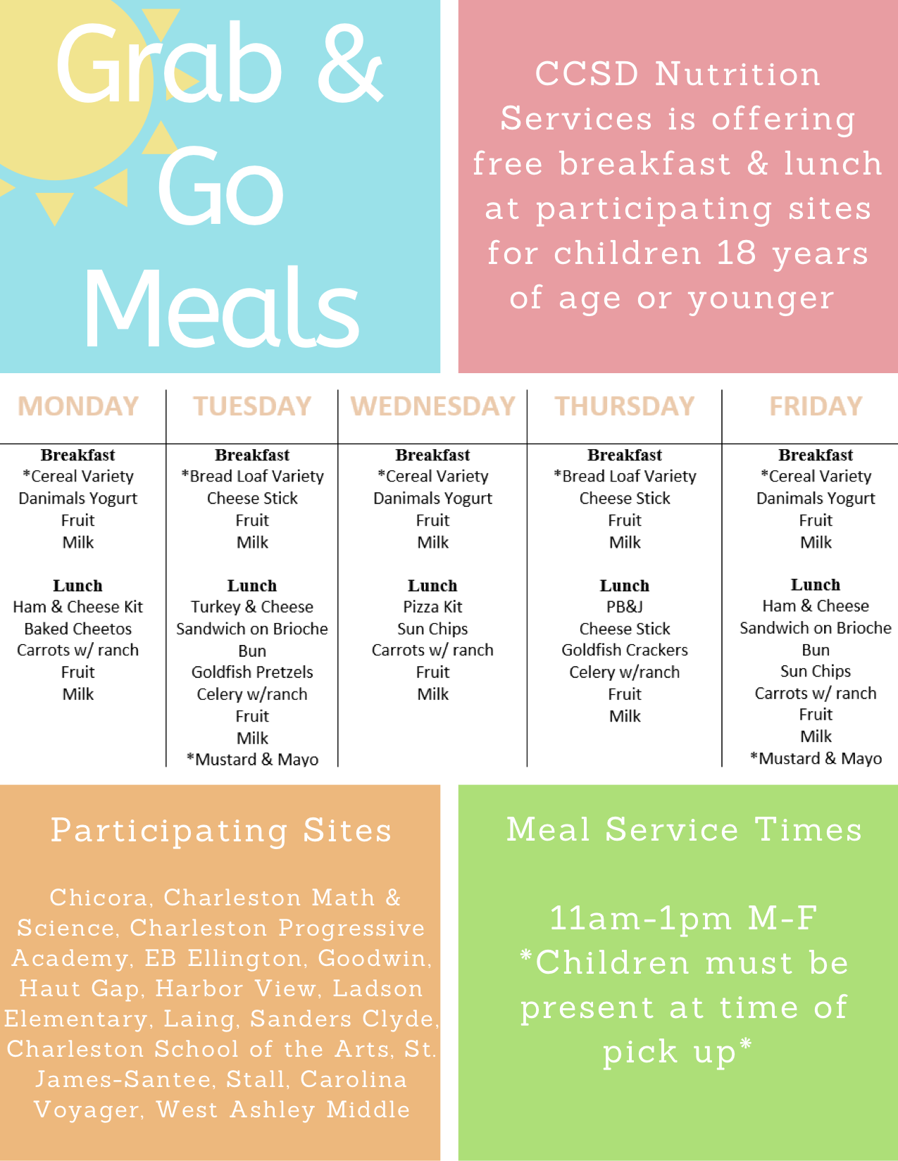 Grab-And-Go-Meals Flyer