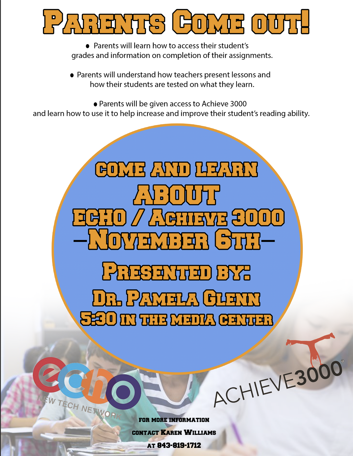 ECHO and ACHIEVE 3000