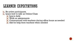 Lerner Expectations