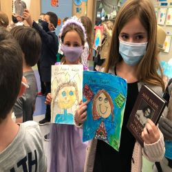 Students dress as famous authors