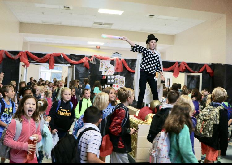 Students participate in MAGIC at Pinckney