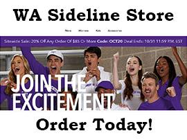 WA Sideline Store is Open! Purchase WA swag today!