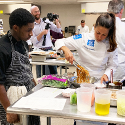 West Ashley High partners with Schwan's Chef Collective