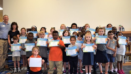 September Terrific Kids group photo
