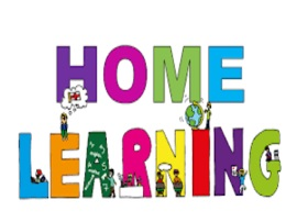 "At Home Learning! Grade level assignments can be found under the ""Students"" tab. Then click ""At Home Learning""."