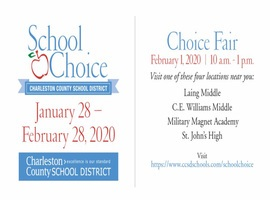 School Choice Applications are opening soon!