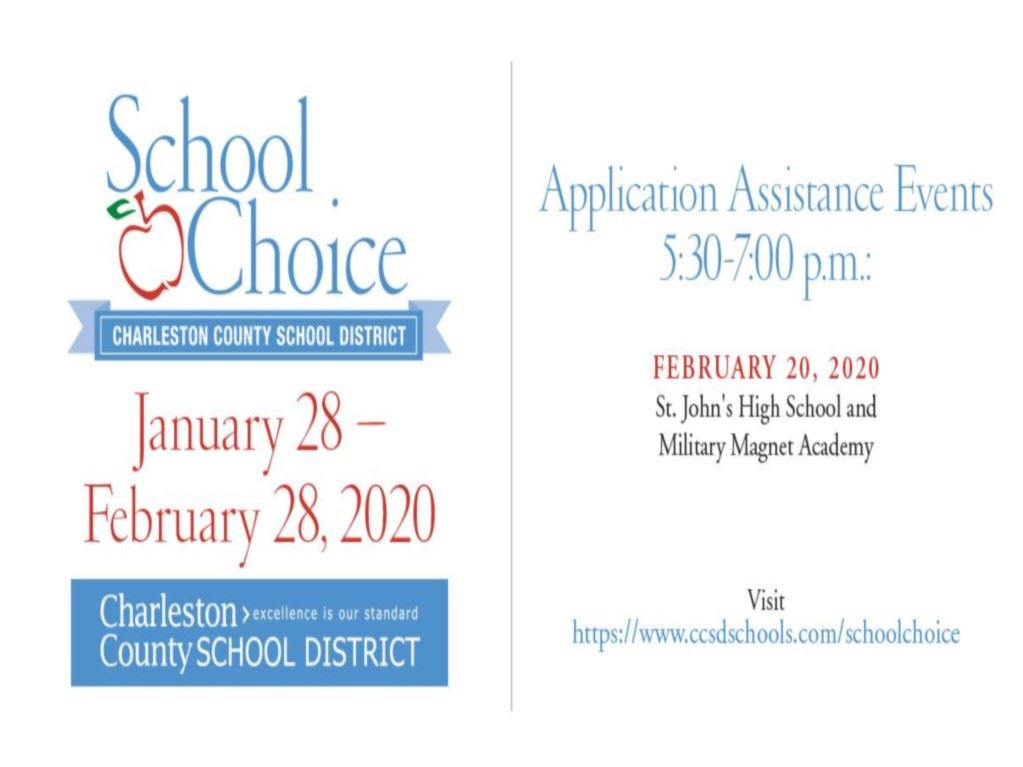 School Choice is open now until February 28
