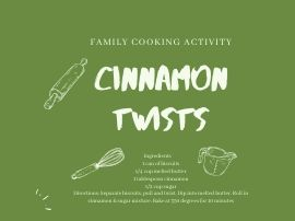 Another family recipe for cinnamon twists