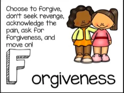 Character Trait for March: Forgiveness