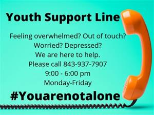 Youth Support Line English