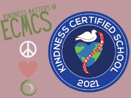 Kindness Matters @ ECMCS!  Students completed over 5,000 acts of kindness from Jan 25-29.  View the video!