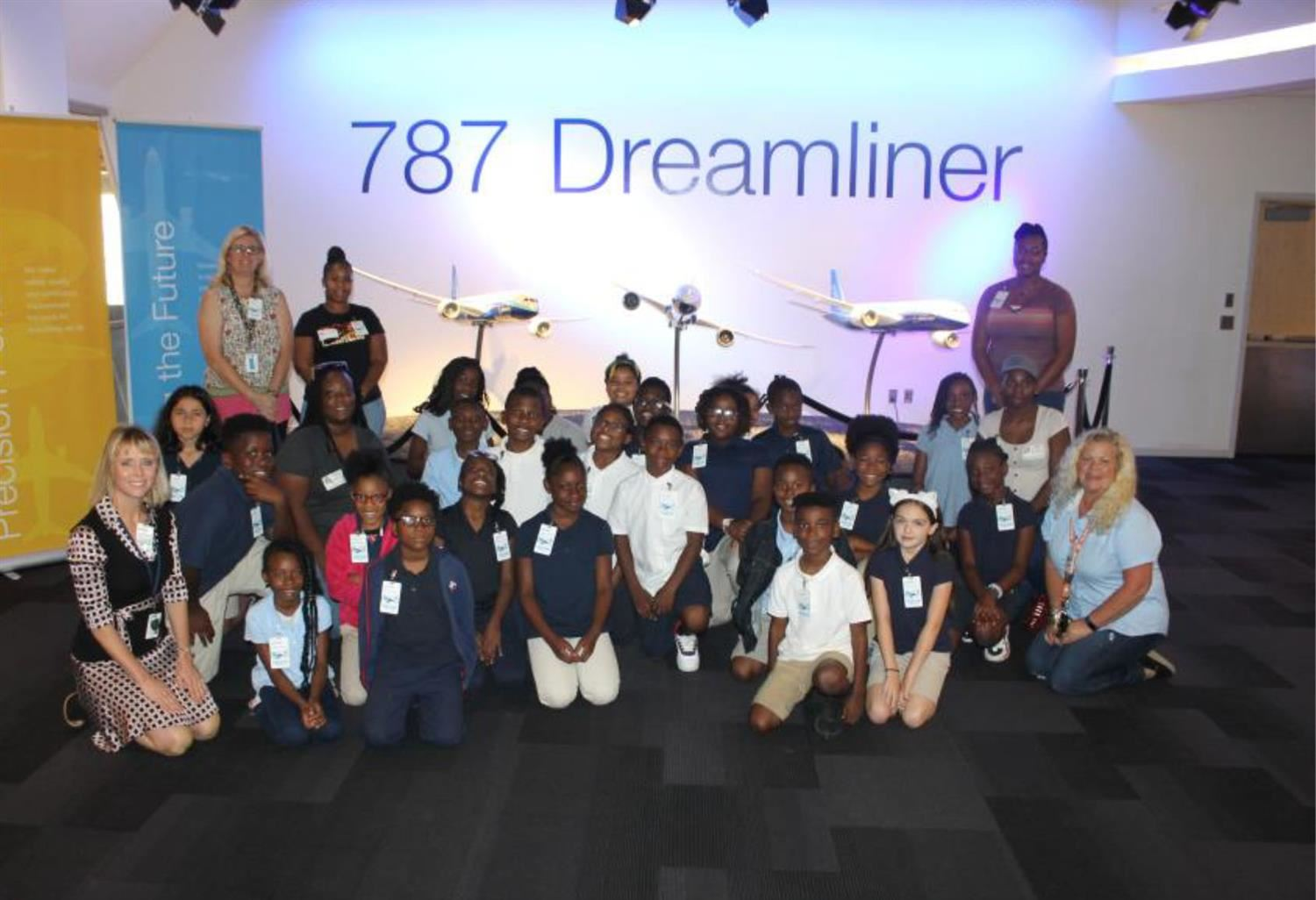 Frierson students participate in Boeing's Dream Learner Program