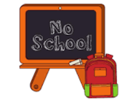 No School Friday Feb. 14th and Monday Feb. 17th