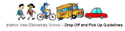 Drop off and Pick up Guidelines