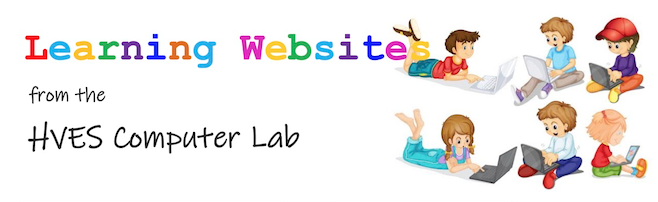 Learning Websites from the HVES Computer Lab
