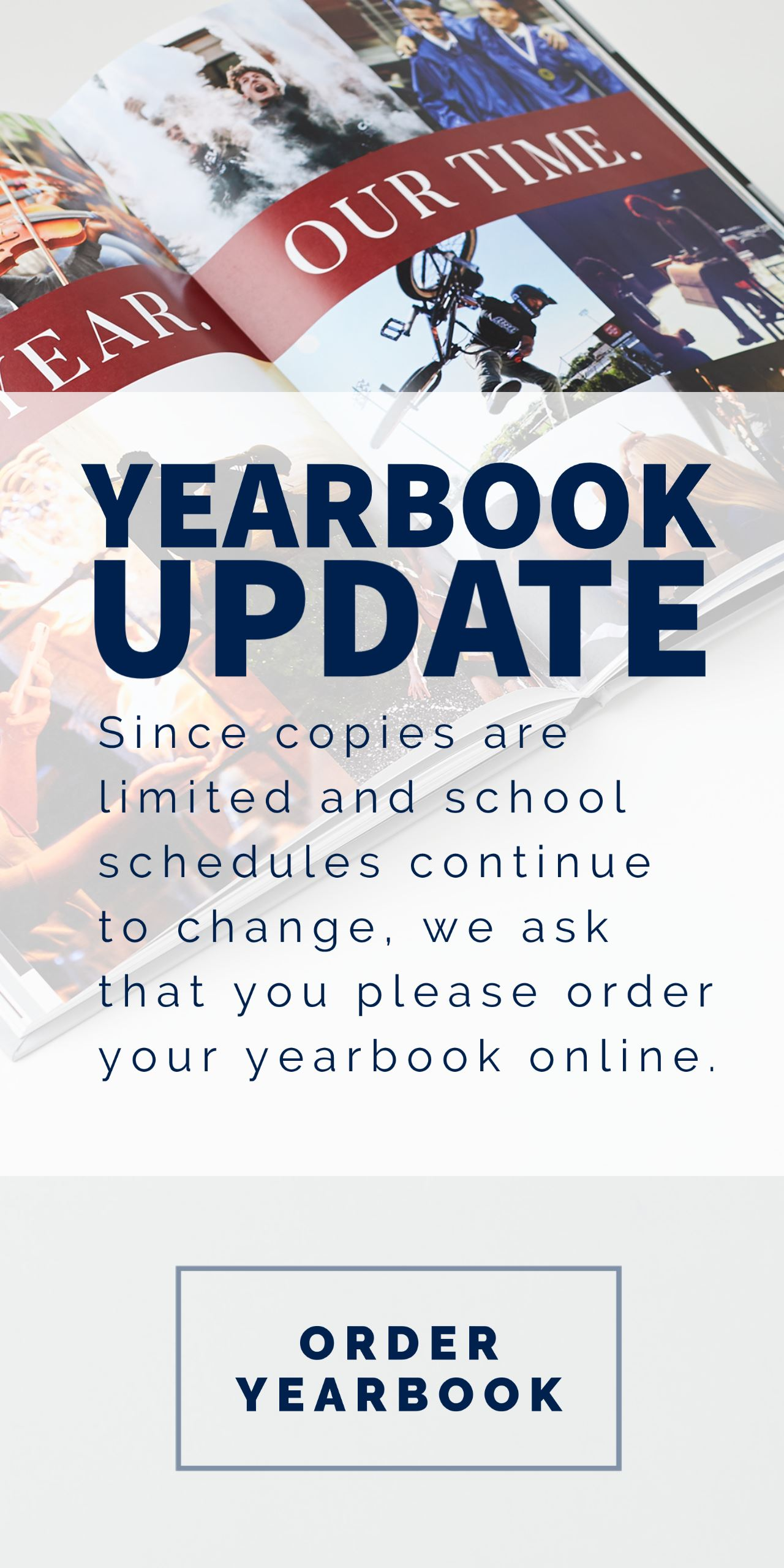 You can still order your 2019-2020 HGMS yearbook!