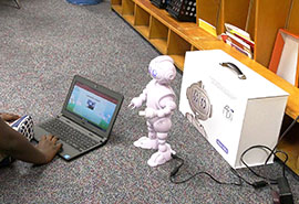 St. James-Santee training robots