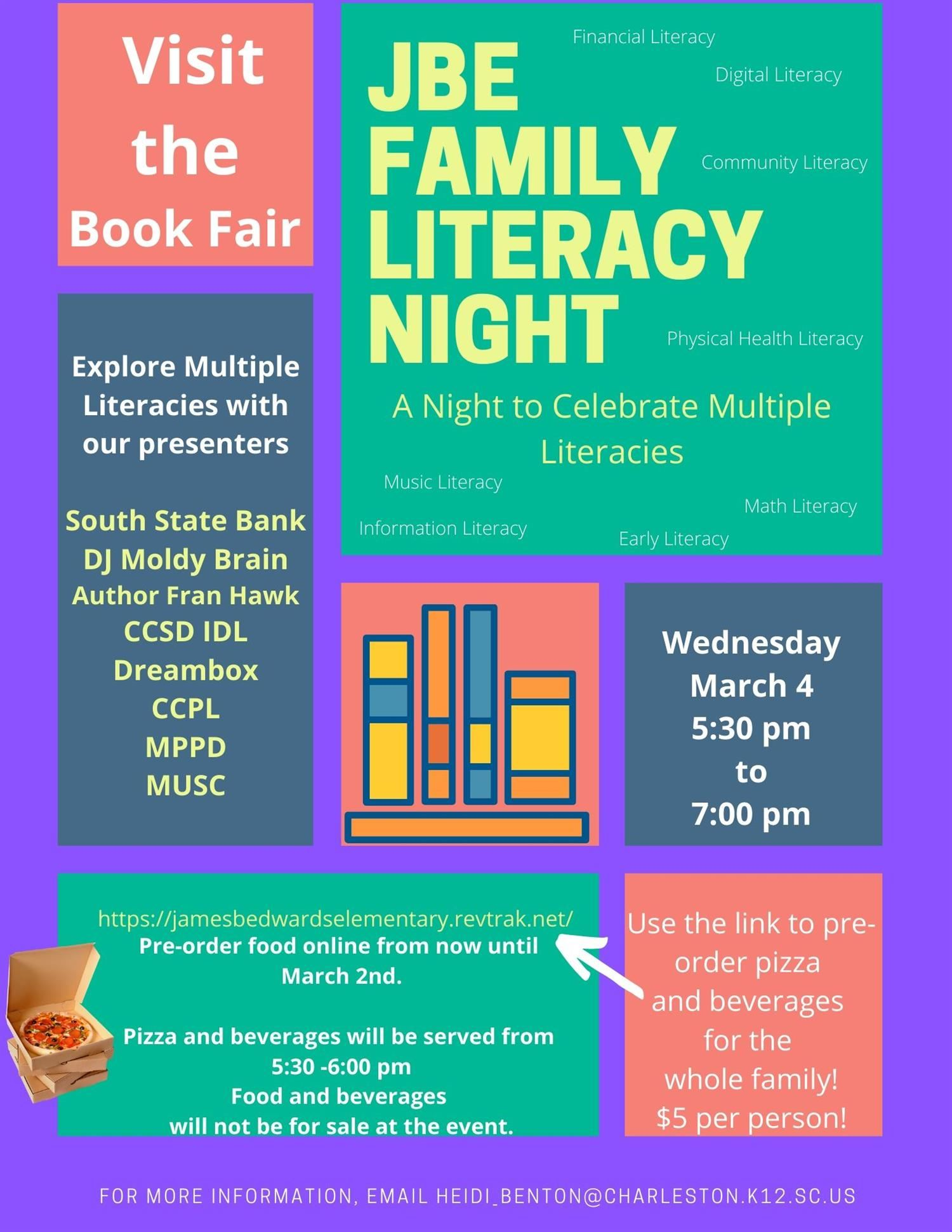 Family Literacy Night: Celebrating Multiple Literacies