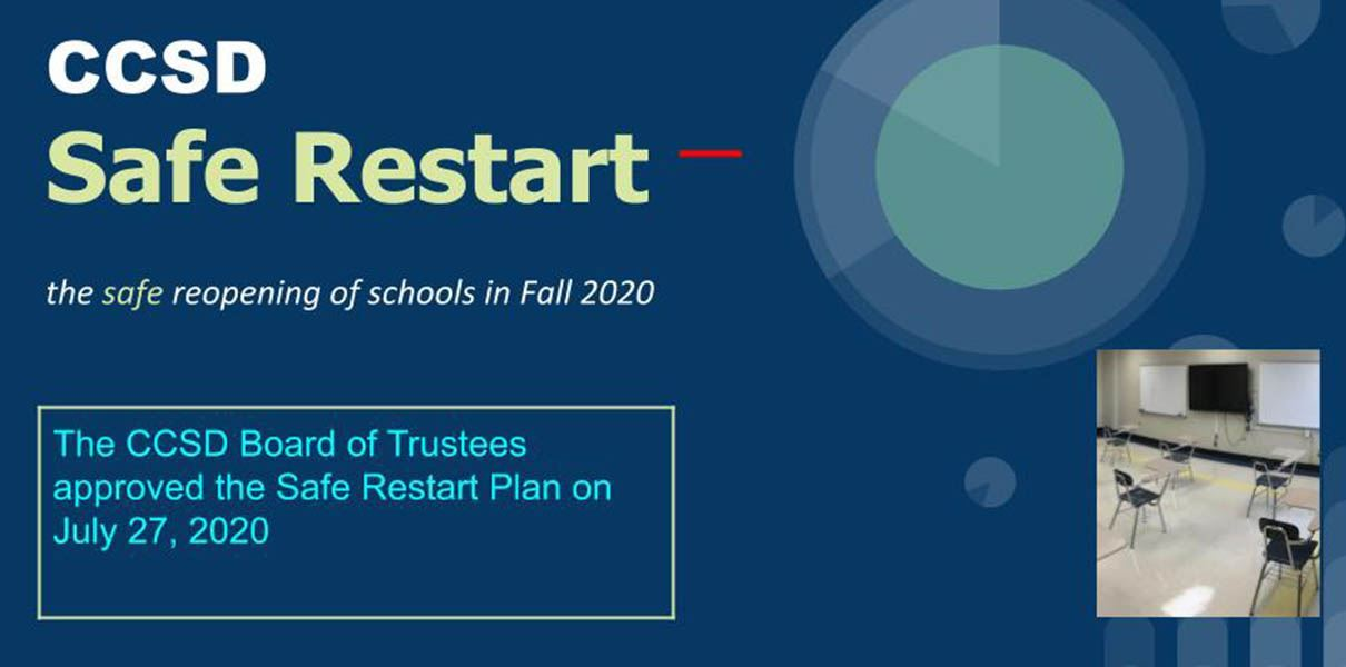 CCSD Safe Restart Website