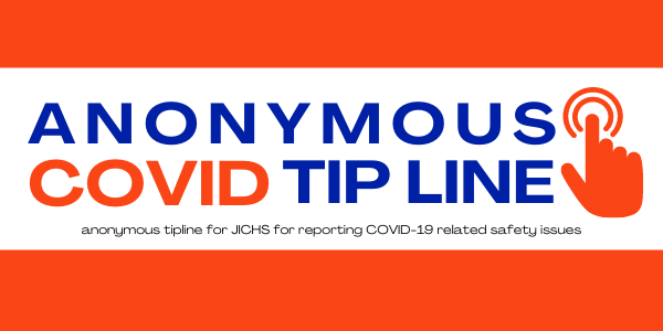 JICHS Anonymous COVID-19 Tip Line Link