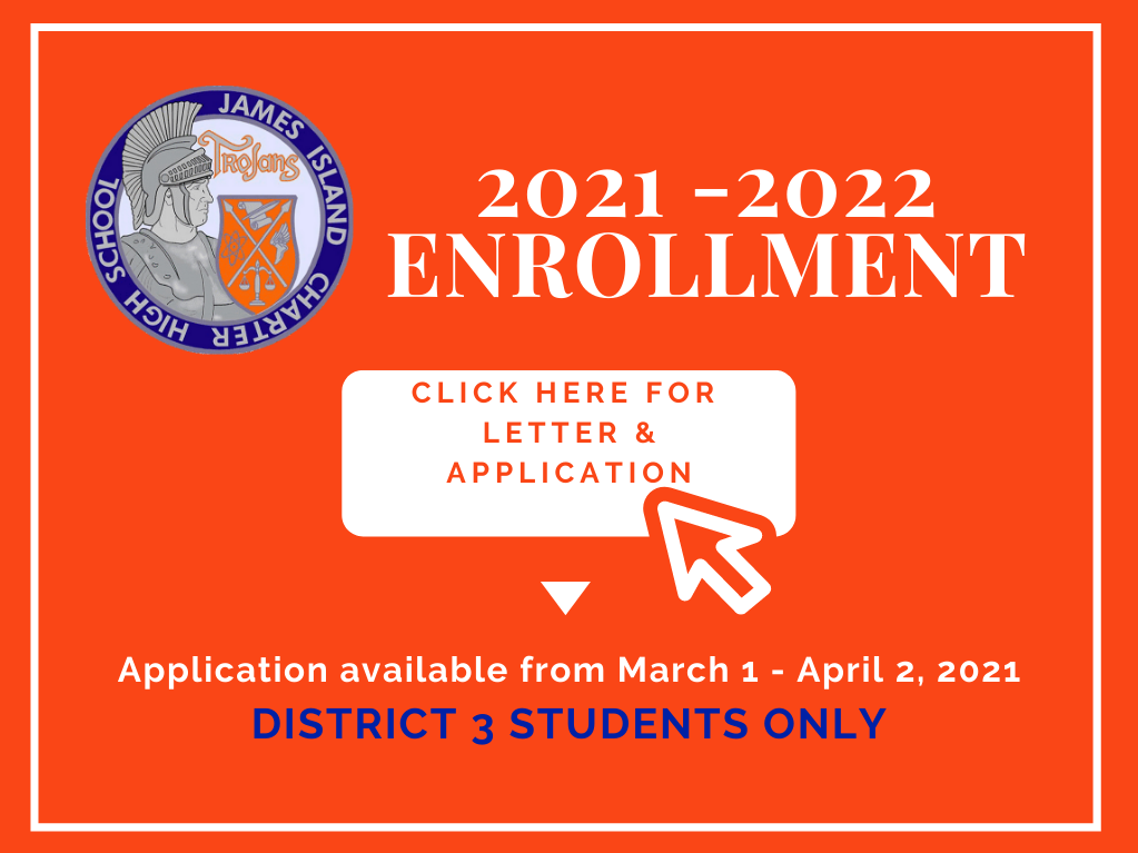 Applications Due April 2, 2021 for the 2021-2022 School Year