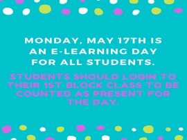 E-Learning Day May 17th