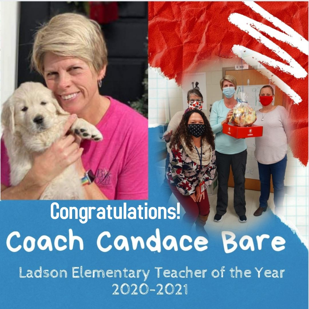 Teacher of the Year Candace Bare