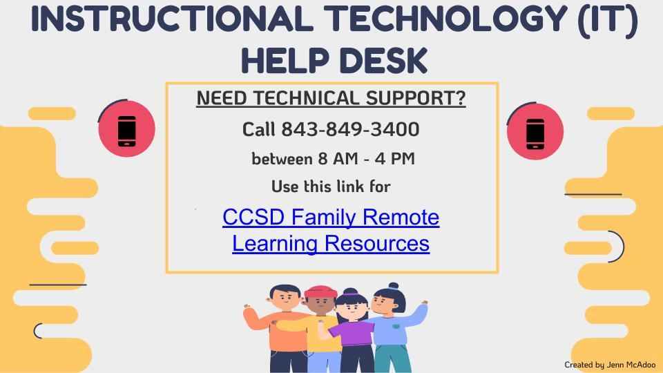 CCSD Parent Technical Support