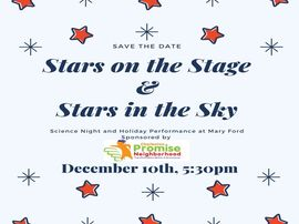 Holiday performance on December 10th at 5:30pm