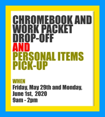 Chromeboook and Packet Drop Off