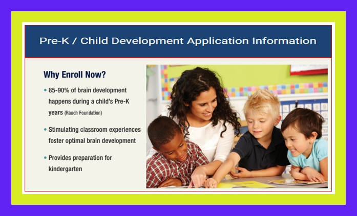 Application For Early Childhood Click Here