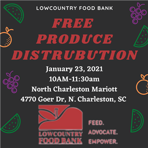 Lowcountry Food Bank Free Produce Distribution