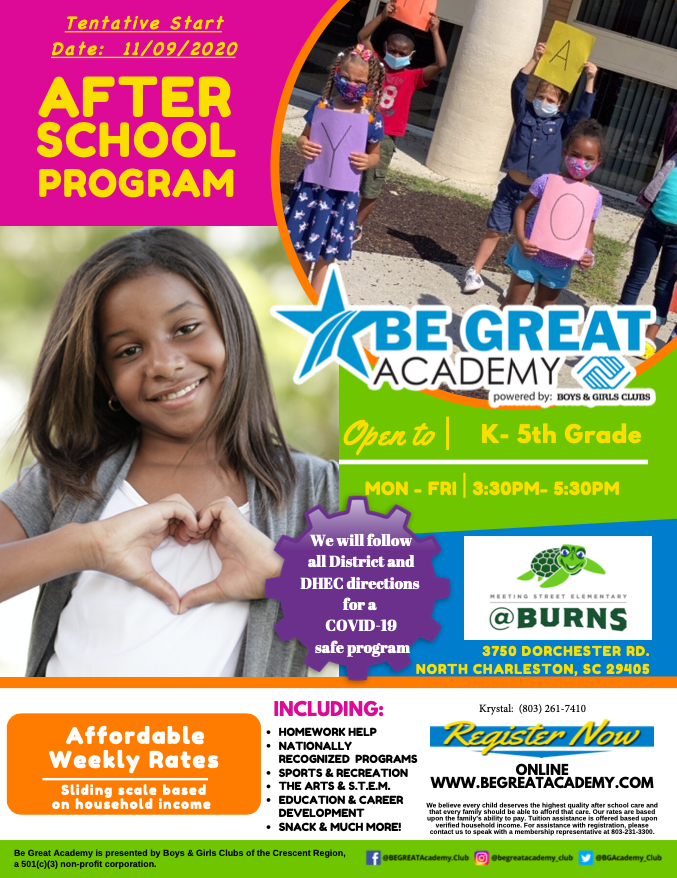 Extended Day | Be Great Academy