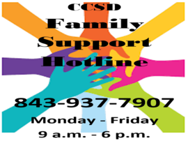CCSD Family Support Hotline Image