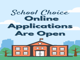 School Choice Online Applications Are Open