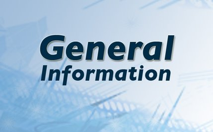 Logo that says general information
