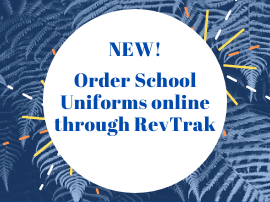 New! Order School Uniforms Online through Revtrak