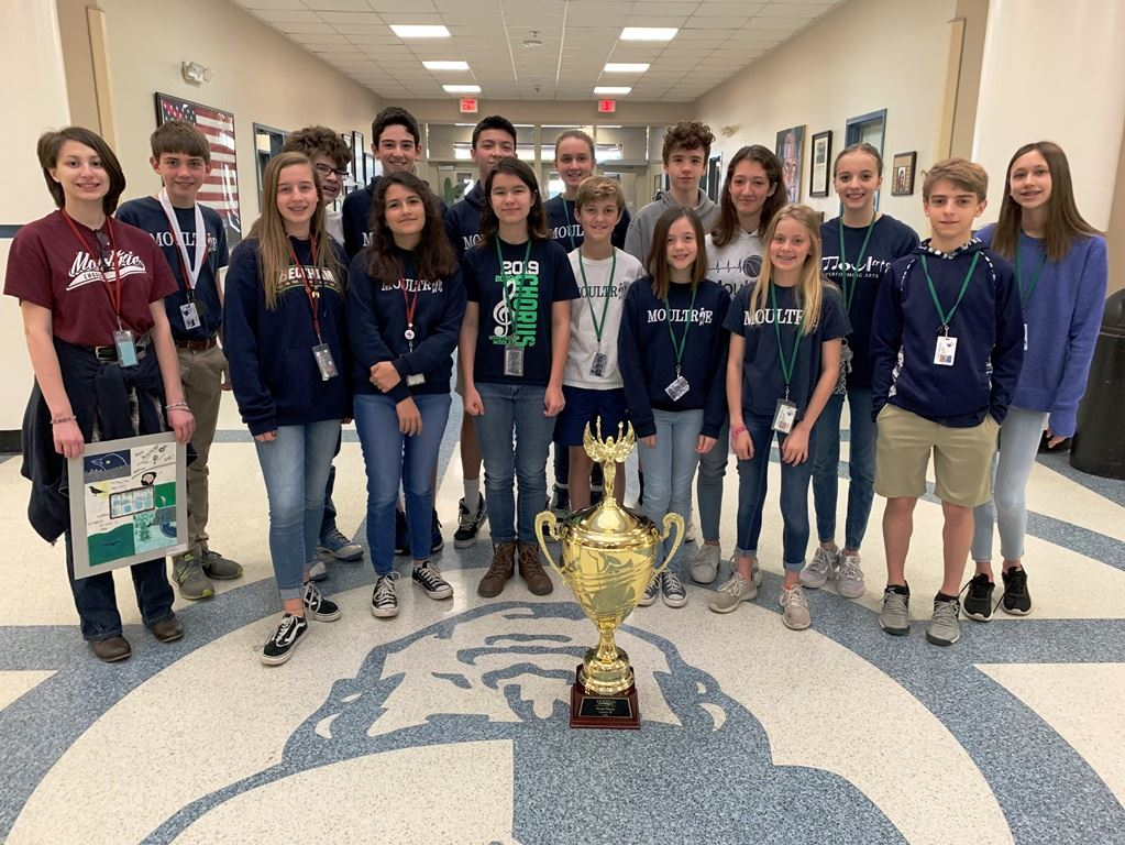 Moultrie takes home the trophy at QUEST's tri-county academic competition!