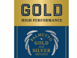 Moultrie earns palmetto gold award
