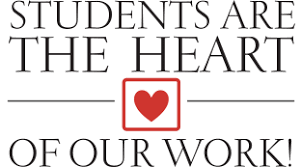 CCSD Students are the Heart logo