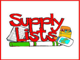 Supply Lists Image