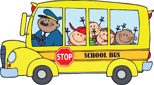 School bus with children