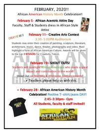 African American History Month!