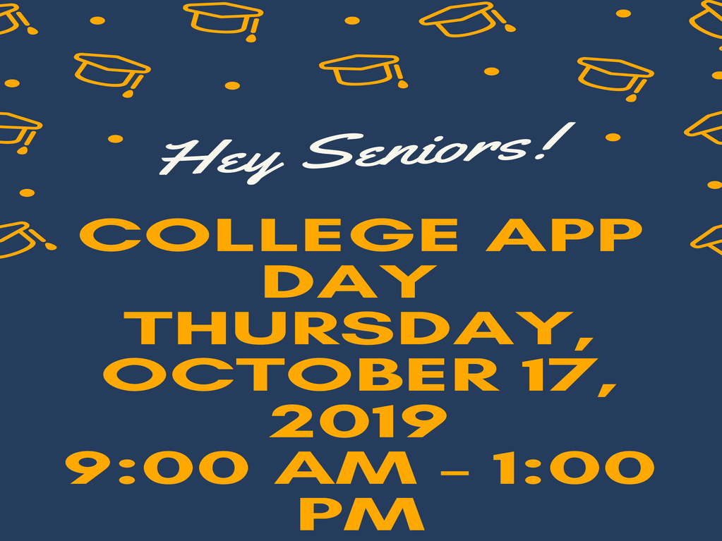 College Application Day October 17th!