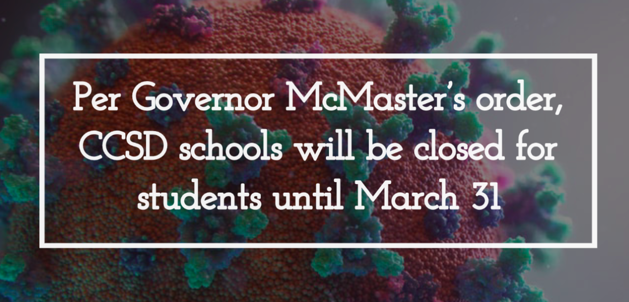 All CCSD Schools are Closed Until March 31st!