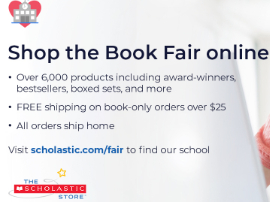 Virtual Book Fair November 16-November 29