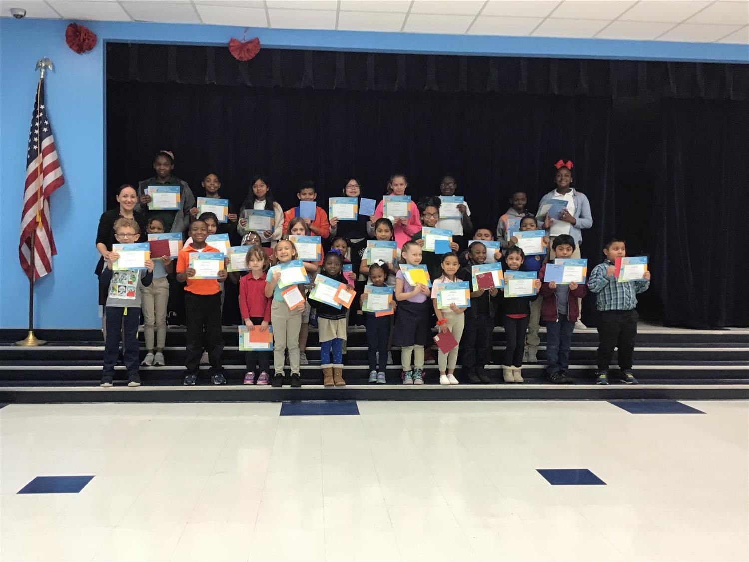 Congratulations to our January Terrific Kids!